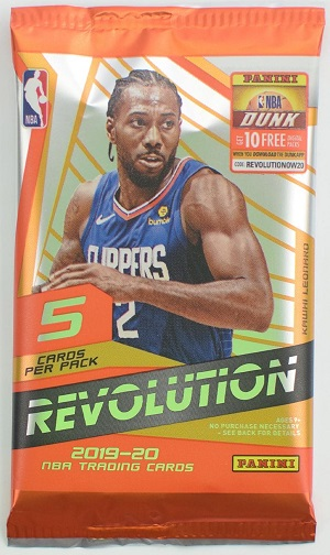 2019/20 PANINI REVOLUTION BASKETBALL HOBBY PACK