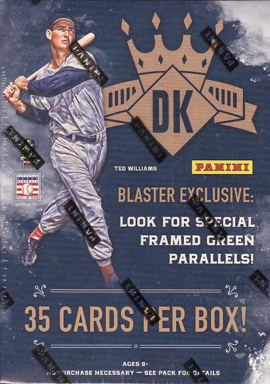 2017 Panini Diamond Kings Baseball Blaster Box 613297894681