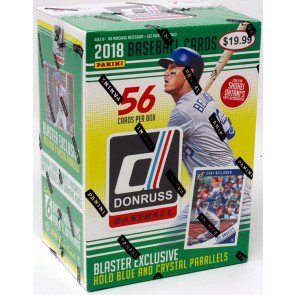 2018 PANINI DONRUSS BASEBALL 7CT BLASTER BOX