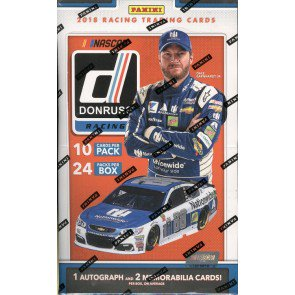 2018 DONRUSS RACING HOBBY BOX