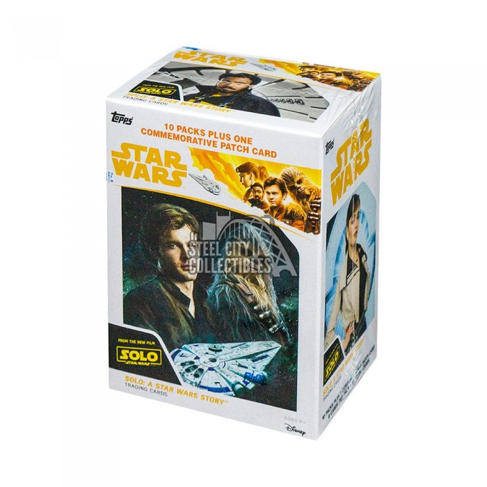 2018 TOPPS SOLO: A STAR WARS STORY 10CT BLASTER BOX