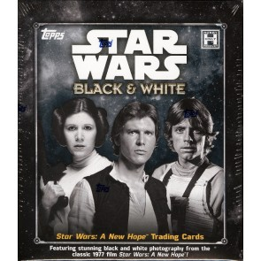 2018 STAR WARS NEW HOPE BLACK & WHITE HOBBY BOX