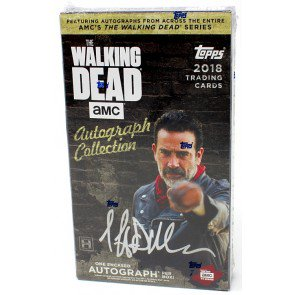 2018 TOPPS WALKING DEAD AUTOGRAPH COLLECTION HOBBY BOX