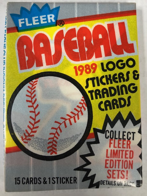 1989 FLEER BASEBALL HOBBY PACK