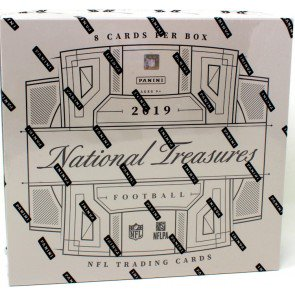 2019 NATIONAL TREASURES FOOTBALL HOBBY BOX