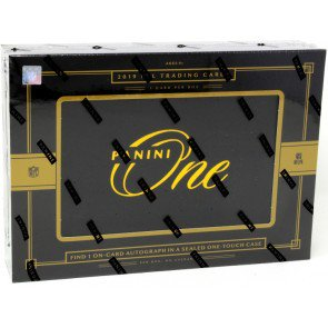 2019 PANINI ONE FOOTBALL HOBBY BOX