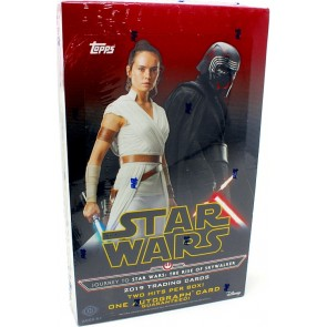 2019 STAR WARS JOURNEY TO THE RISE OF SKYWALKER HOBBY BOX