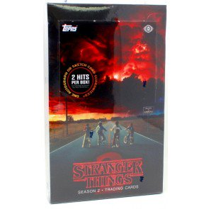 2019 TOPPS STRANGER THINGS SERIES 2 HOBBY BOX
