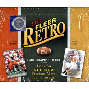 2013 FLEER RETRO FOOTBALL HOBBY BOX