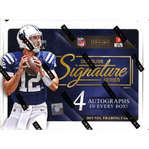 2015 DONRUSS SIGNATURE SERIES FOOTBALL HOBBY BOX