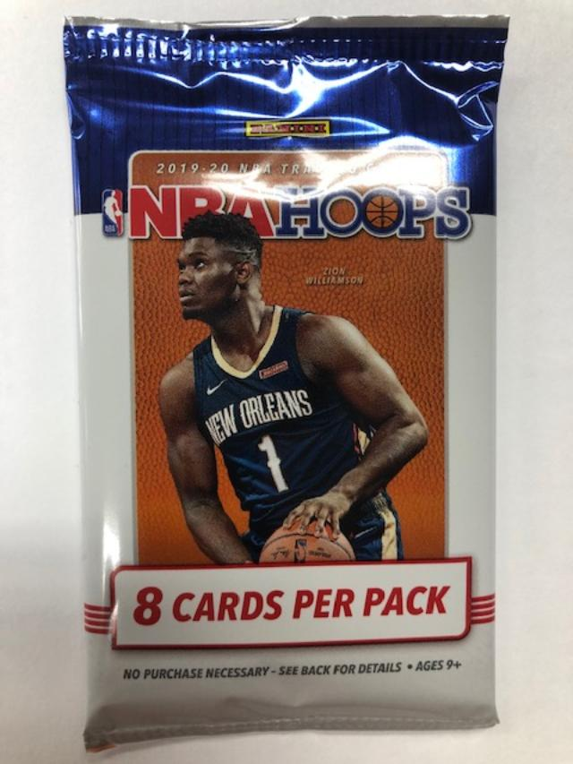 2019/20 PANINI HOOPS BASKETBALL HOBBY PACK