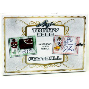 2020 LEAF TRINITY FOOTBALL HOBBY BOX