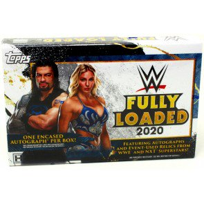 2020 TOPPS WWE FULLY LOADED HOBBY BOX