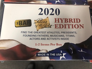 2020 THE BAR PIECES OF THE PAST HYBRID EDITION BOX