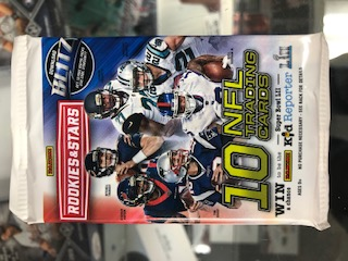 2017 PANINI ROOKIES AND STARS FOOTBALL RETAIL PACK