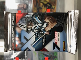 2020 PANINI XR FOOTBALL HOBBY PACK