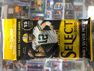 2020 PANINI SELECT FOOTBALL VALUE PACK