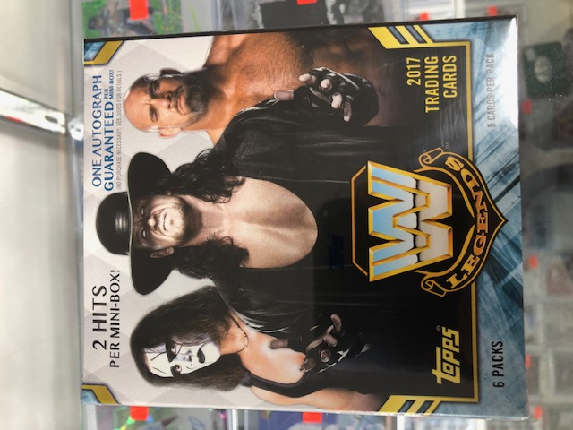 2017 TOPPS WWE LEGENDS OF HOBBY MINI-BOX