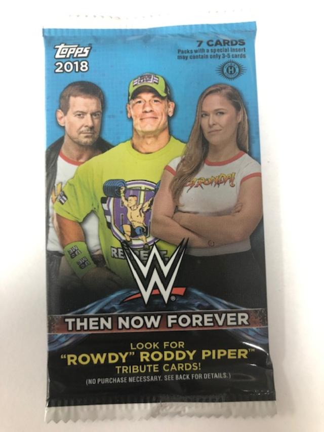 2018 TOPPS WWE THEN NOW & FOREVER HOBBY PACK