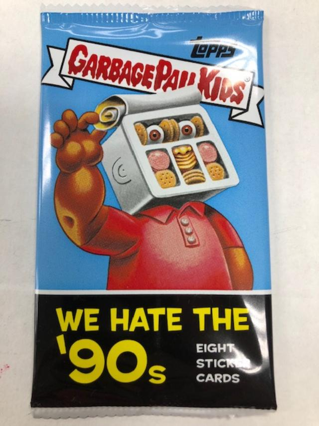 2019 TOPPS GARBAGE PAIL KIDS SERIES 1 WE HATE THE '90S HOBBY PA