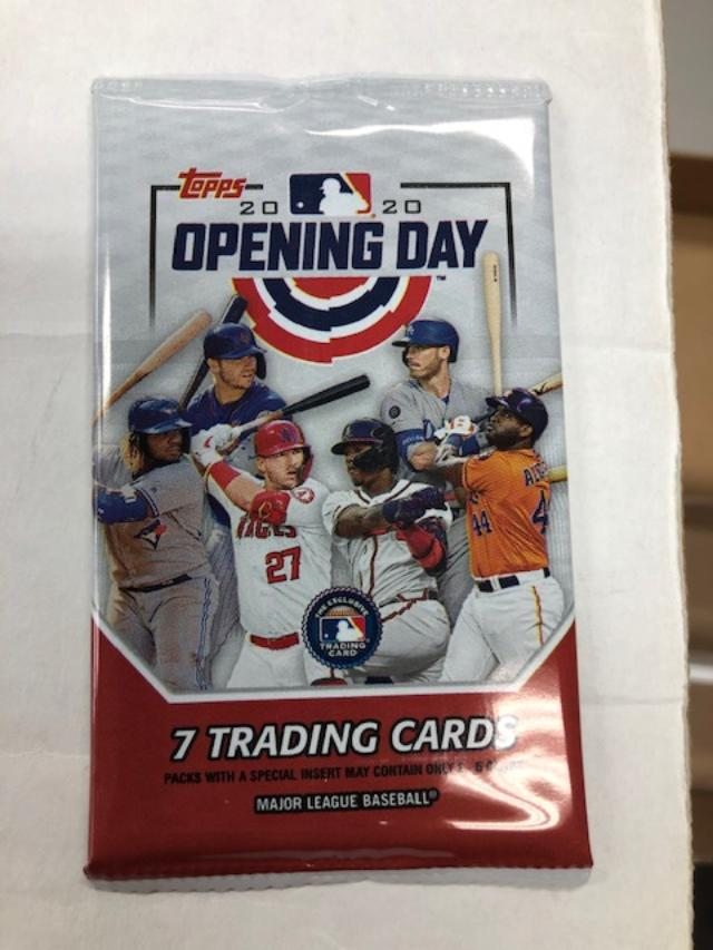 2020 TOPPS OPENING DAY BASEBALL HOBBY PACK