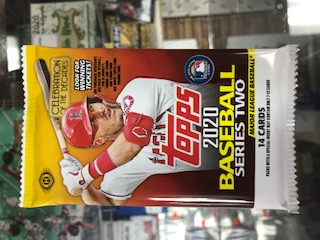 2020 TOPPS SERIES 2 BASEBALL HOBBY PACK