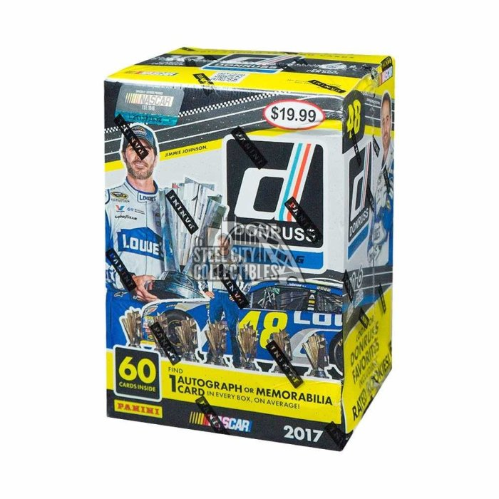2017 DONRUSS RACING BLASTER BOX