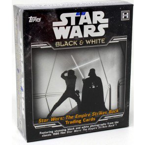 2019 STAR WARS EMPIRE STRIKES BACK BLACK & WHITE HOBBY BOX