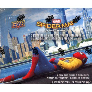 2017 MARVEL SPIDER-MAN HOMECOMING HOBBY BOX